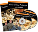 Woodturning Projects with Rex and Kip — DVD Set Volumes 3 & 4