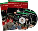 Woodturning Christmas Ornaments with Rex and Kip – DVD Volumes 5 & 6