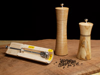 Woodturned Pepper Mills