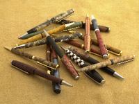 Woodturning Pens, Wood Turned Pens
